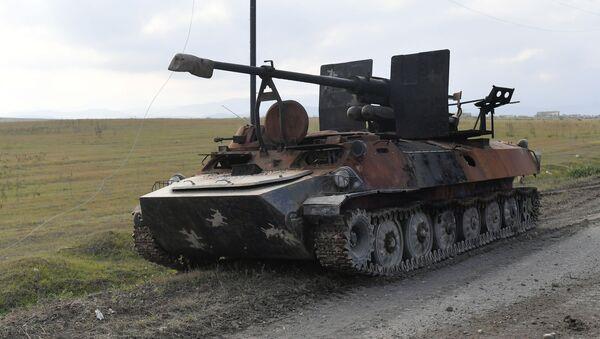 Брошенная армянская военная техника - Sputnik Беларусь