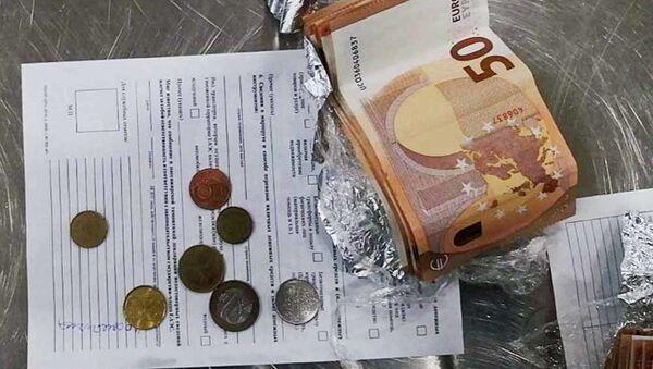 Найденные у гражданки деньги - Sputnik Беларусь