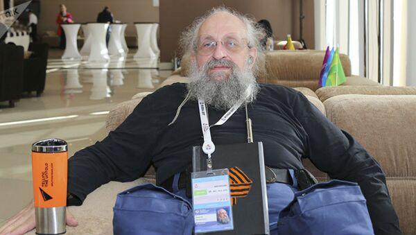 Палітычны кансультант, публіцыст Анатоль Васерман - Sputnik Беларусь