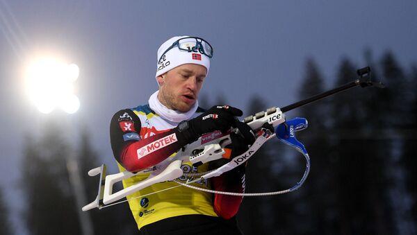 Норвежский биатлонист Тарьей Бё - Sputnik Беларусь
