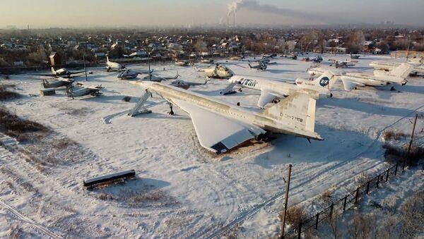 Видеофакт: кладбище авиатехники с высоты птичьего полета - Sputnik Беларусь