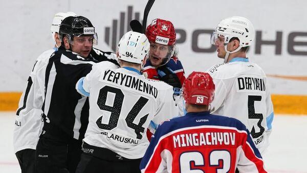 Игровой момент матча, архивное фото - Sputnik Беларусь