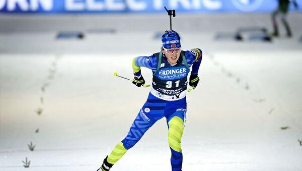 Динара Алимбекова заняла 7-е место в гонке на 7,5 км - Sputnik Беларусь