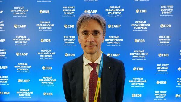 Председатель правления Банка развития Беларуси Андрей Жишкевич  - Sputnik Беларусь