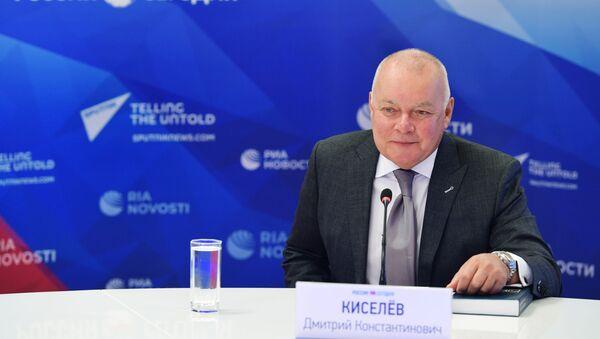 Генеральны дырэктар МІА Россия сегодня Дзмітрый Кісялёў - Sputnik Беларусь
