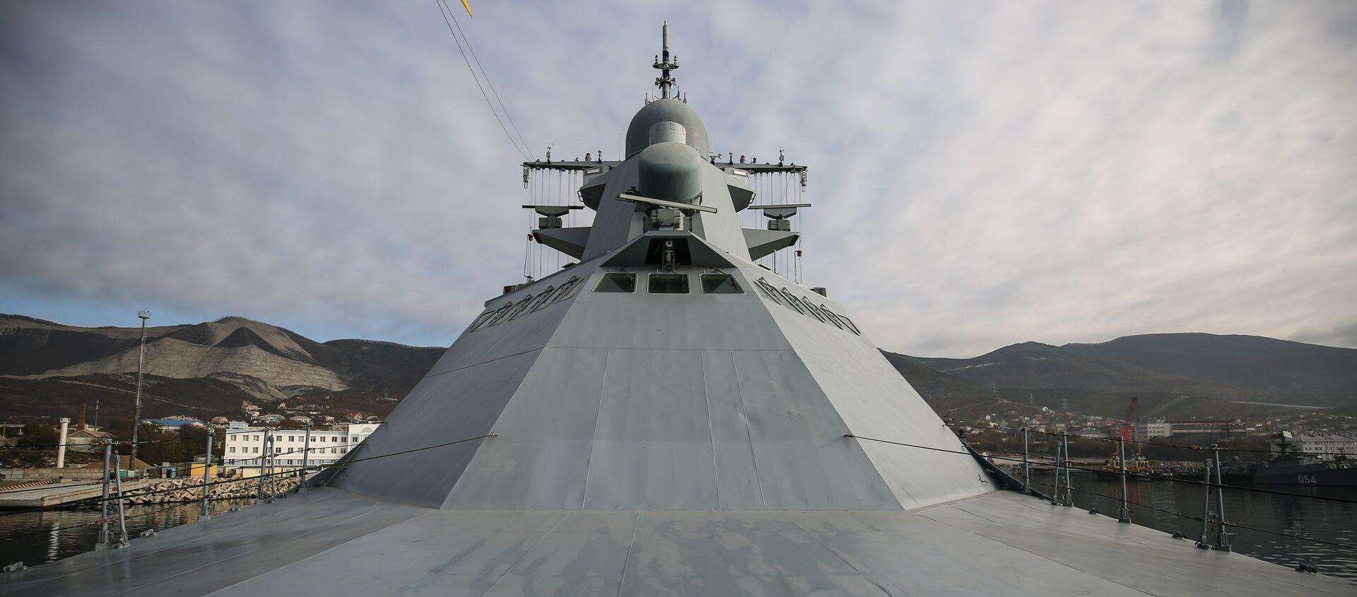 Патрульный корабль ВМФ России - Sputnik Беларусь, 1920, 08.02.2021