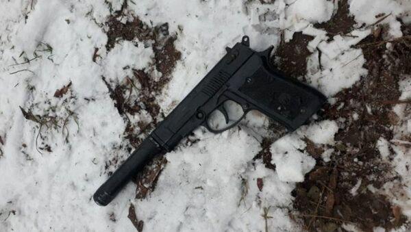Житель Борисова угрожал сотруднику милиции предметом, похожим на пневматический пистолет - Sputnik Беларусь