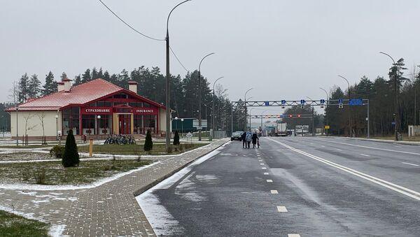 Пограничный пункт пропуска Брузги - Sputnik Беларусь