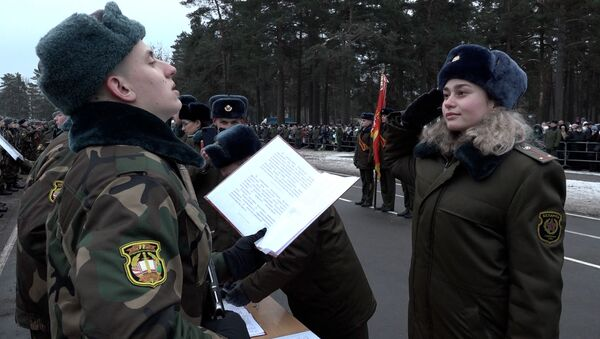 Присяга - Sputnik Беларусь