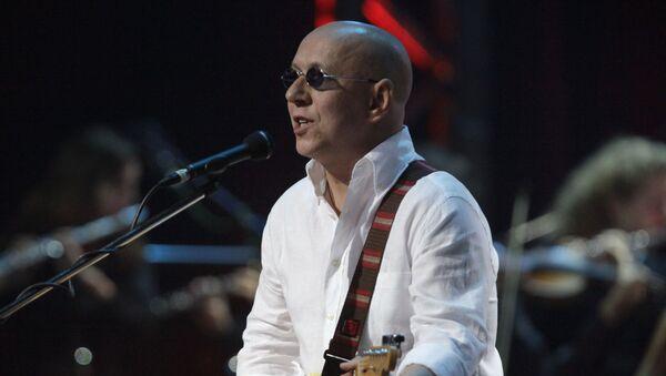 Музыкант рок-группы Воскресение Андрей Сапунов  - Sputnik Беларусь