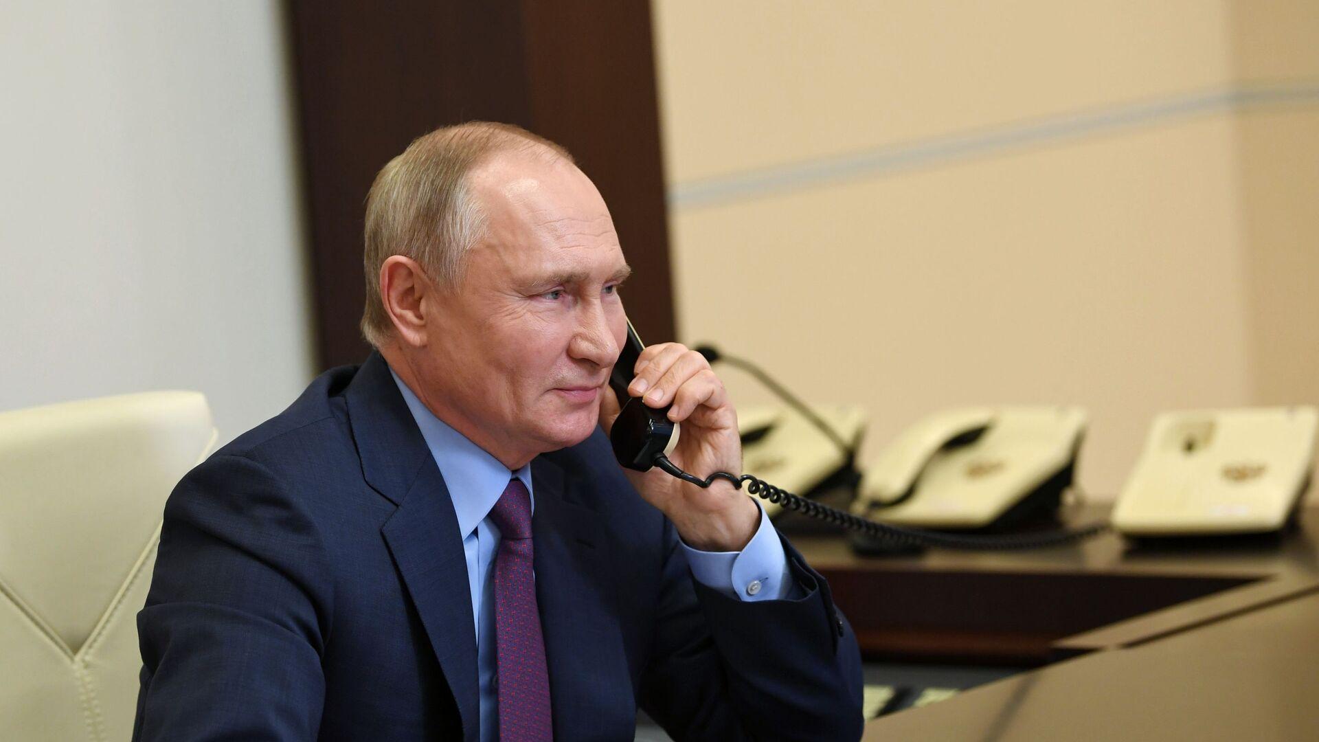 Президент России Владимир Путин, архивное фото - Sputnik Беларусь, 1920, 13.04.2021