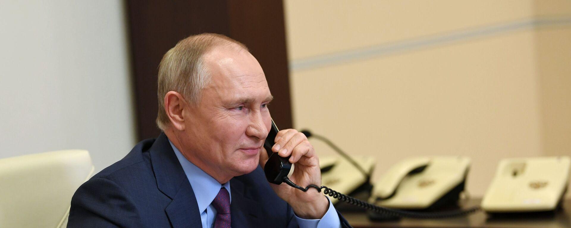Президент России Владимир Путин, архивное фото - Sputnik Беларусь, 1920, 26.01.2021