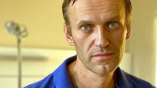 Алексей Навальный в берлинской больнице Шарите - Sputnik Беларусь