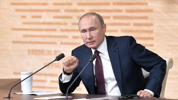 СПУТНИК_LIVE: Большая пресс-конференция Владимира Путина - Sputnik Беларусь