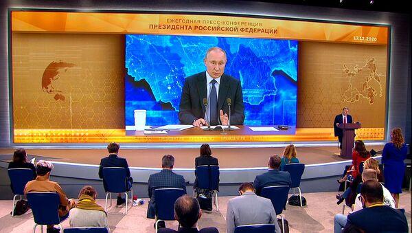 Путин о конституционной реформе в Беларуси: посмотрим, что получится - Sputnik Беларусь