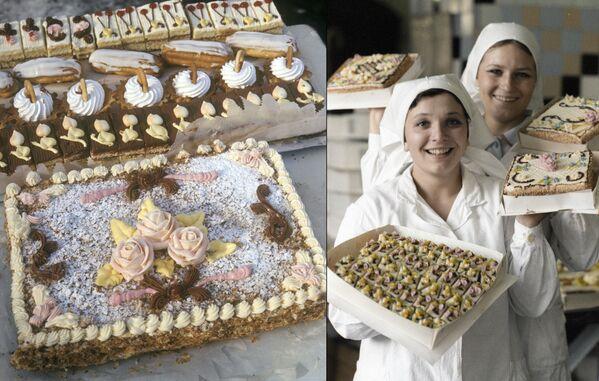 Советские торты и пирожные - максимально натуральные и обожаемые и детьми, и взрослыми. А также самый простой способ прийти в гости не с пустыми руками. - Sputnik Беларусь