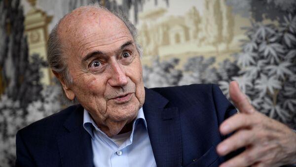 Бывший президент ФИФА Йозеф Блаттер - Sputnik Беларусь