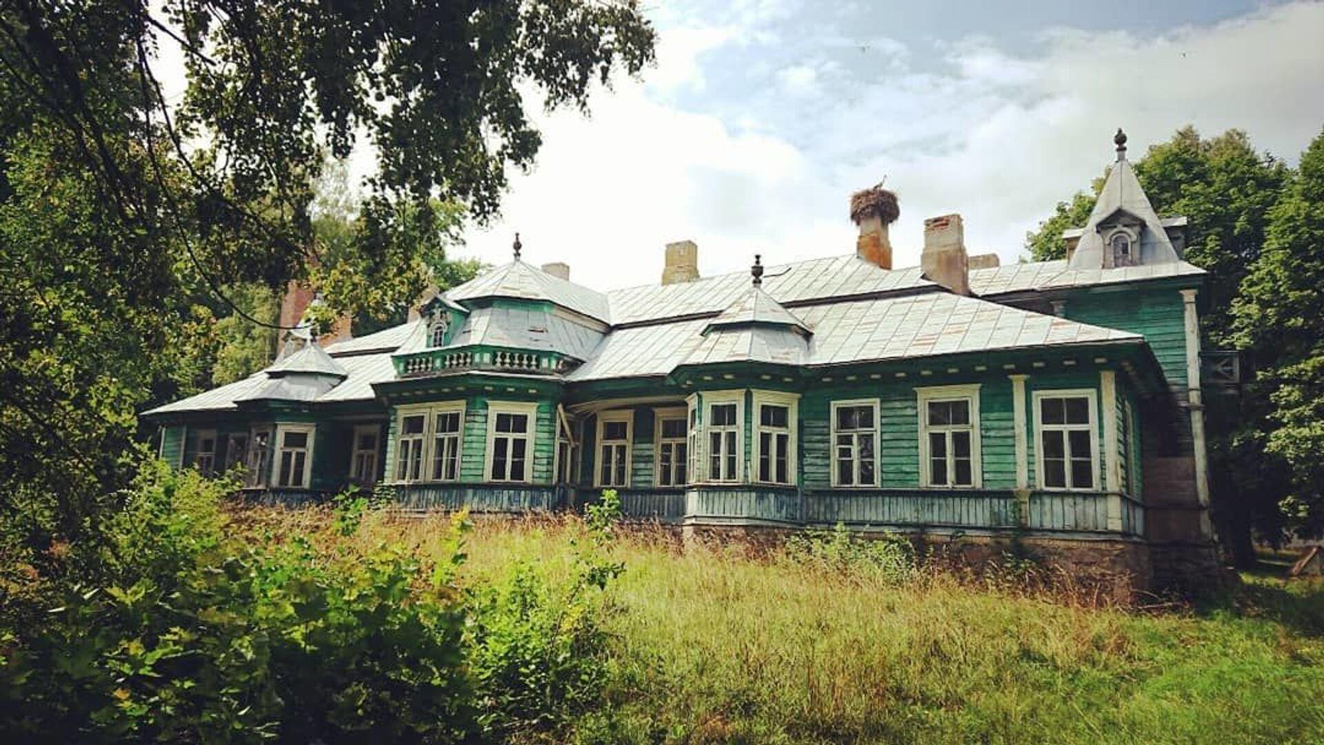 Деревянная усадьба в Порозово - Sputnik Беларусь, 1920, 29.06.2021