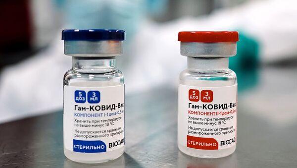Производство российской вакцины против COVID-19 Спутник V (Гам-КОВИД-Вак)  - Sputnik Беларусь