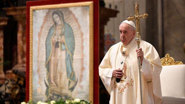 Папа Римский Франциск, архивное фото - Sputnik Беларусь