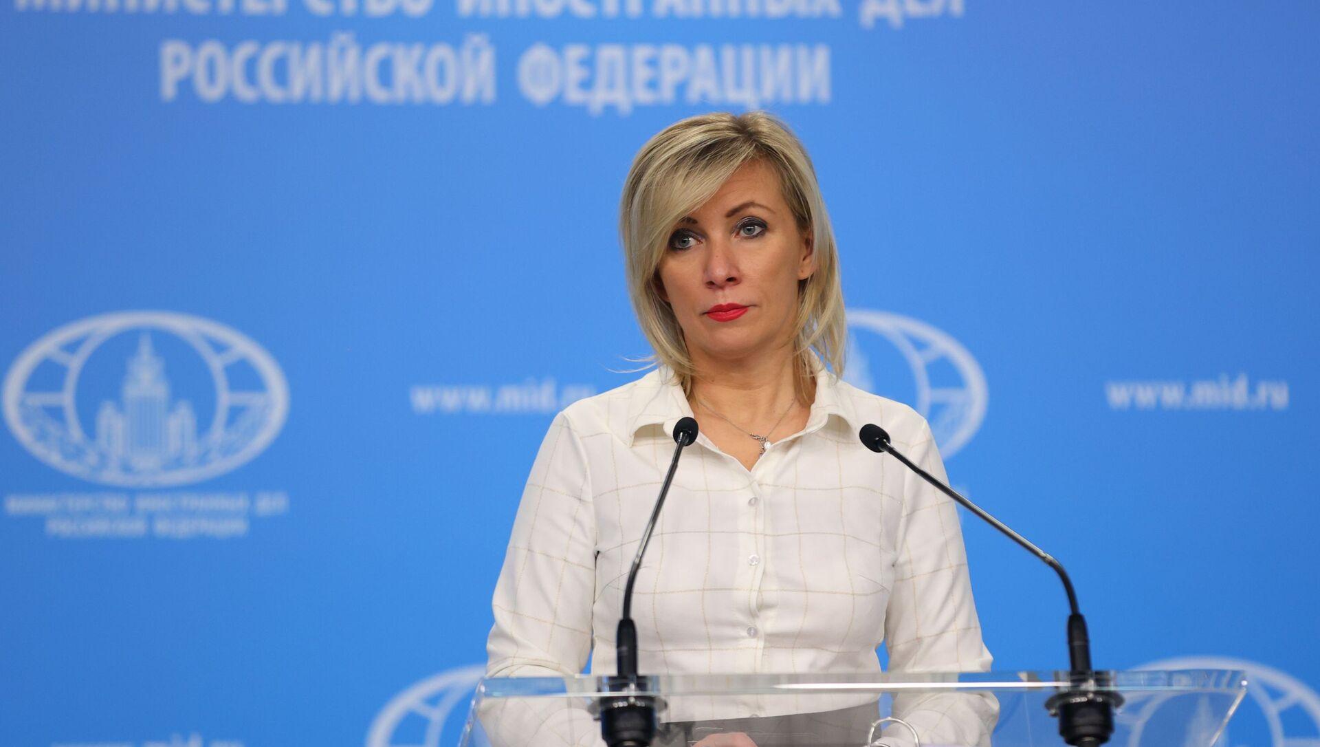 Официальный представитель Министерства иностранных дел РФ Мария Захарова - Sputnik Беларусь, 1920, 04.02.2021