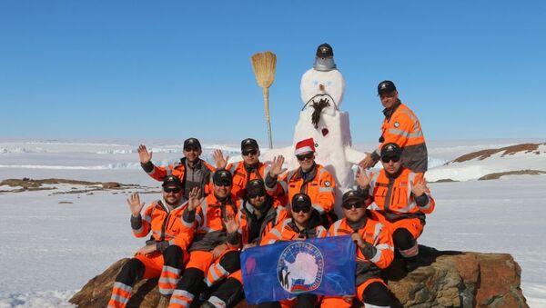 Беларуская антарктычная экспедыцыя - Sputnik Беларусь