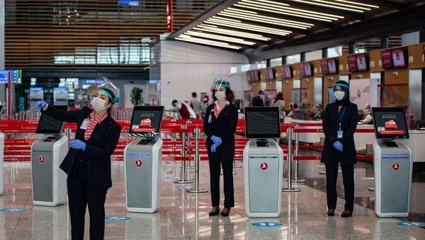 Аэрапорт у Стамбуле - Sputnik Беларусь