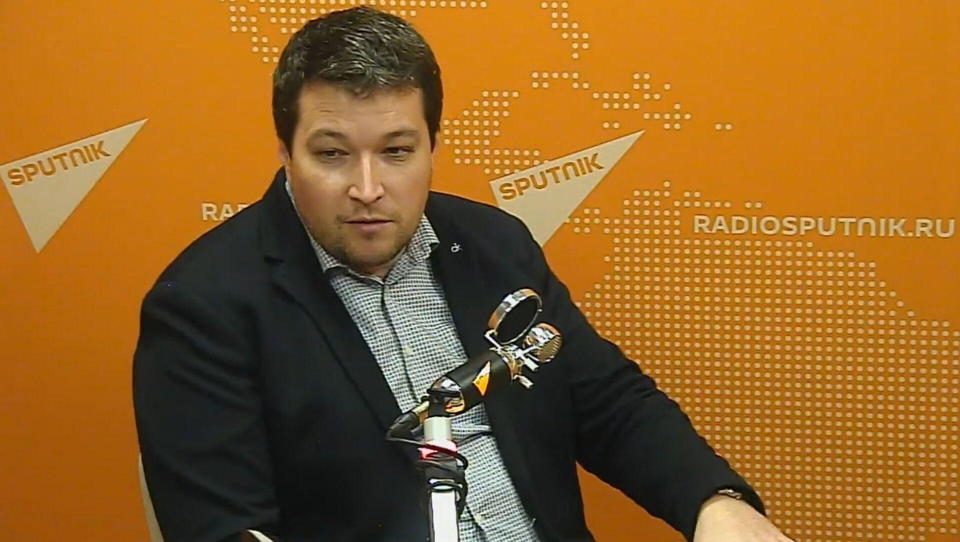 Кандидат медицинских наук, врач-иммунолог Николай Крючков - Sputnik Беларусь, 1920, 04.02.2021