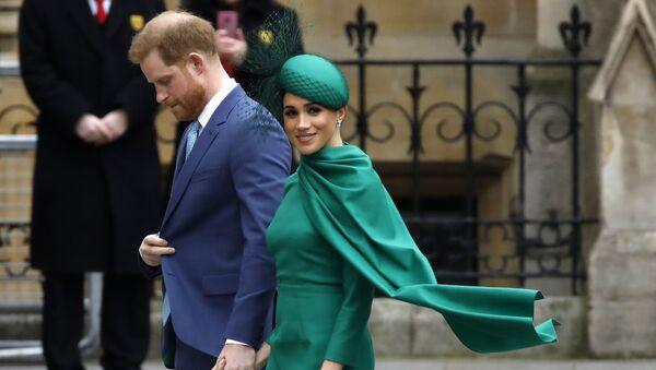 Принц Гарри с супругой Меган Маркл - Sputnik Беларусь