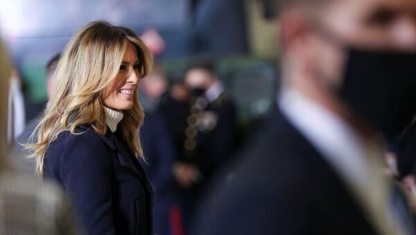 Супруга Дональда Трампа Мелания Трамп - Sputnik Беларусь