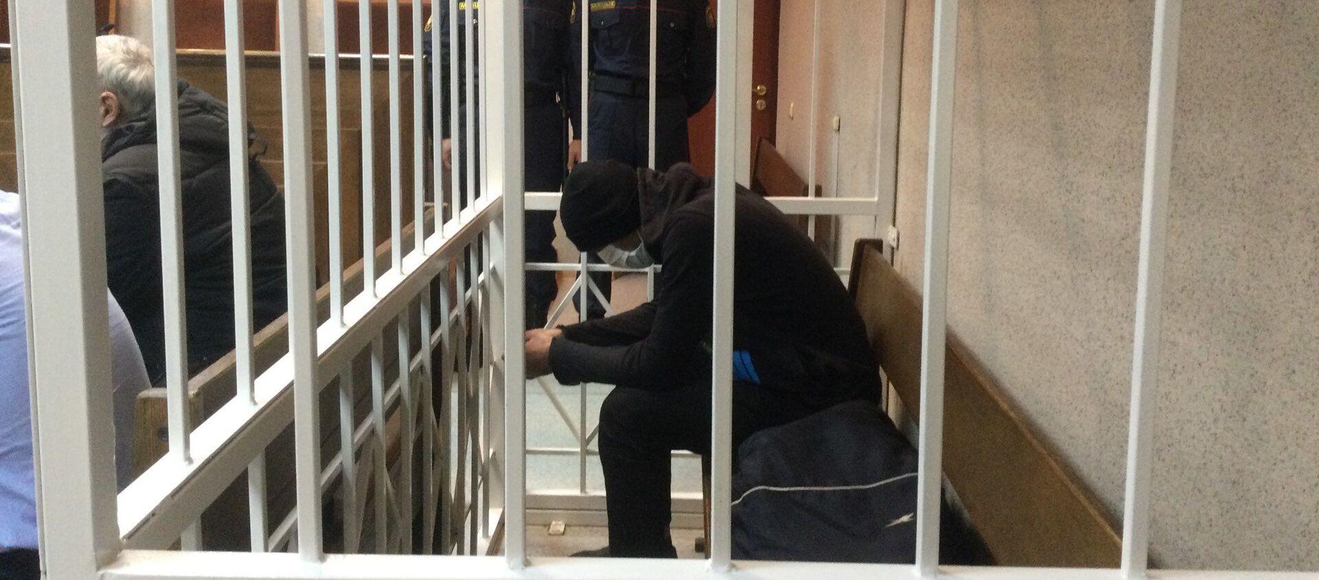 Обвиняемый в убийстве гражданин Узбекистана - Sputnik Беларусь, 1920, 27.01.2021