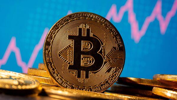 Виртуальная валюта биткойн  - Sputnik Беларусь