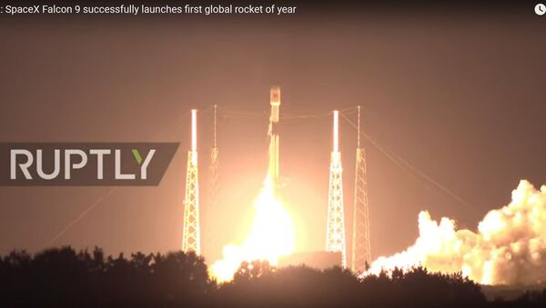 Відэафакт: ракета Falcon 9 стартавала ў Фларыдзе - Sputnik Беларусь