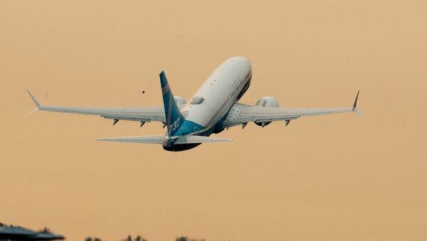 Авіялайнер Boeing 737 - Sputnik Беларусь