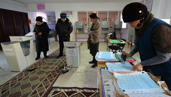 Выборы президента в Кыргызстане - Sputnik Беларусь