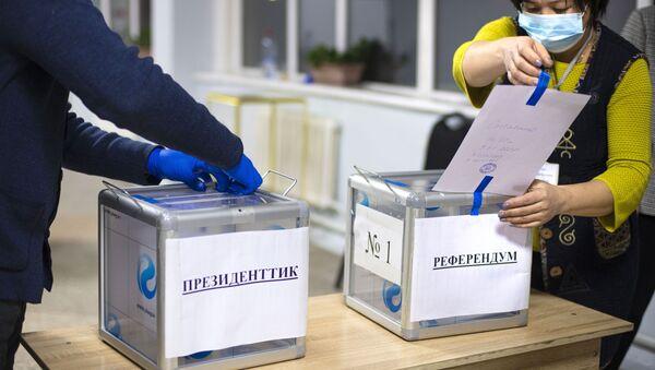 Досрочные выборы президента Киргизии - Sputnik Беларусь