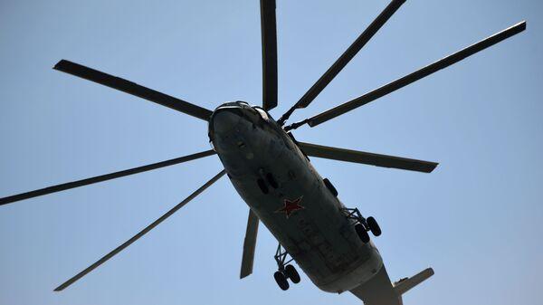 Цяжкі транспартны верталёт Мі-26 - Sputnik Беларусь