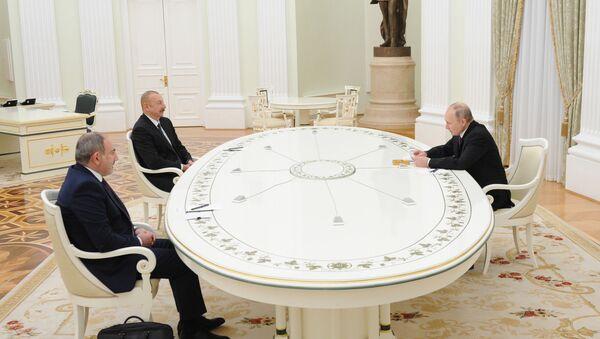 Russia Armenia Azerbaijan Meeting - Sputnik Беларусь