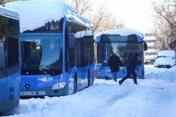 Городской транспорт в Мадриде - Sputnik Беларусь