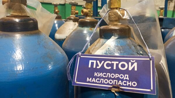 Кислород – продукт маслоопасный - Sputnik Беларусь