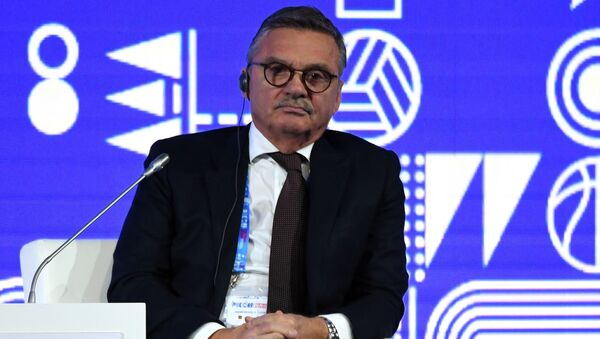 Член Международного олимпийского комитета (IOC), президент Международной федерации хоккея на льду (IIHF) Рене Фазель - Sputnik Беларусь