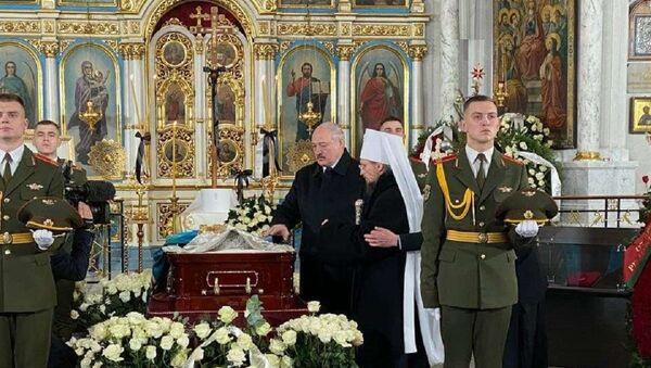 Лукашенко приехал проститься с Филаретом - Sputnik Беларусь