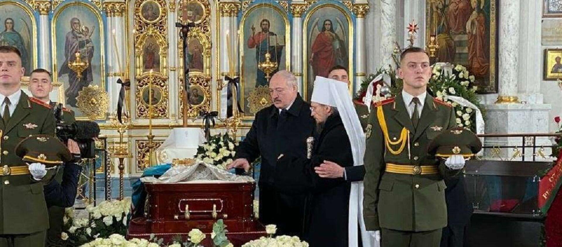 Лукашенко приехал проститься с Филаретом - Sputnik Беларусь, 1920, 14.01.2021