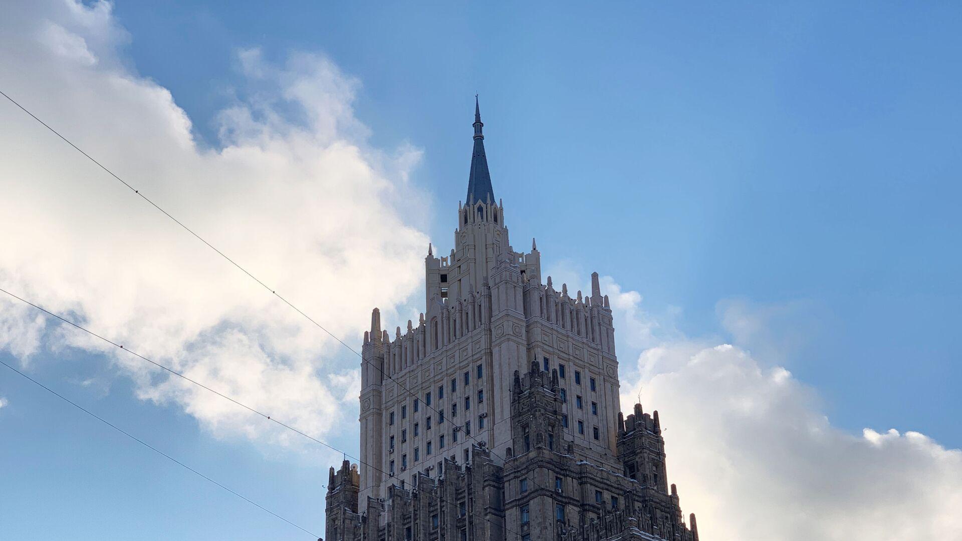 Будынак міністэрства замежных спраў РФ - Sputnik Беларусь, 1920, 03.03.2021