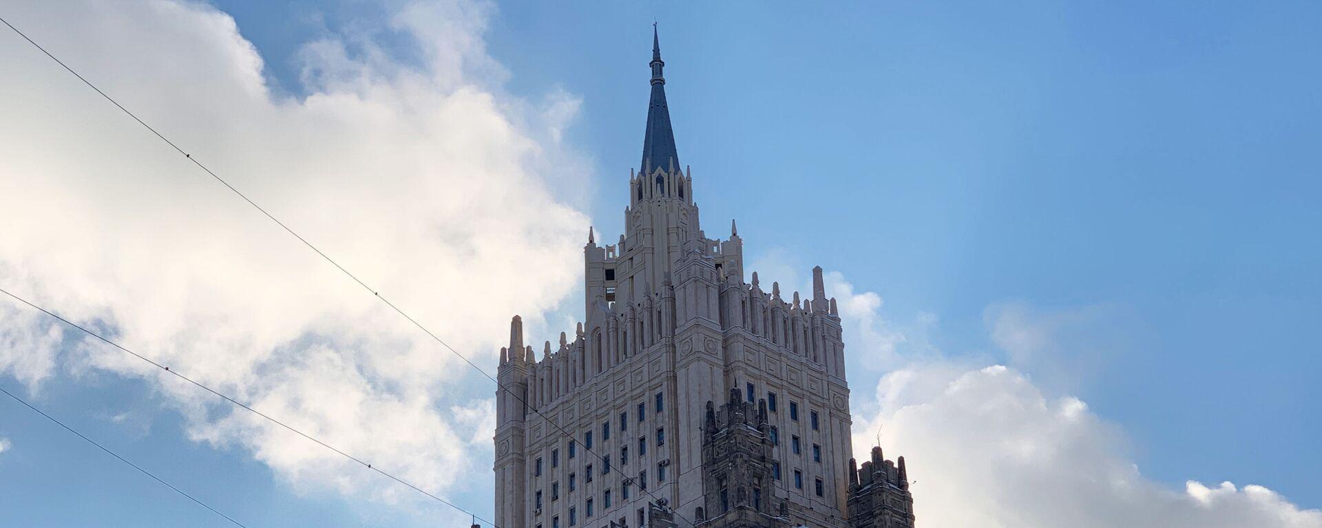 Здание министерства иностранных дел РФ - Sputnik Беларусь, 1920, 09.02.2021