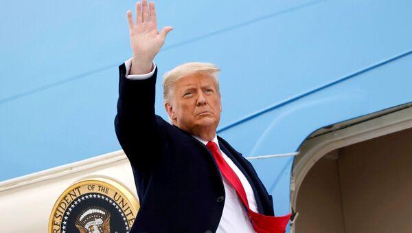Действующий президент США Дональд Трамп - Sputnik Беларусь