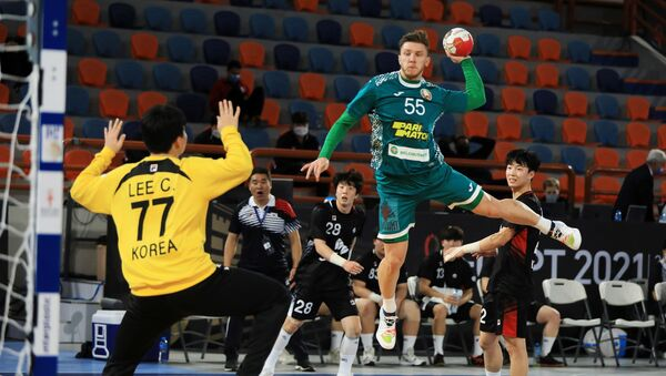 Чемпионат мира по гандболу 2021, матч между командами Беларуси и Южной Кореи - Sputnik Беларусь