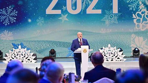 Новогодний прием у президента Беларуси Александра Лукашенко - Sputnik Беларусь