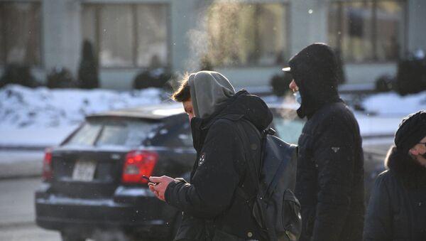 Мороз в Минске - Sputnik Беларусь