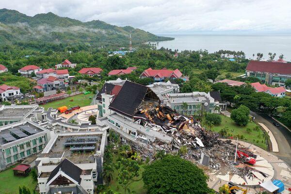 Последствия землетрясения в Мамуджу, Индонезия - Sputnik Беларусь